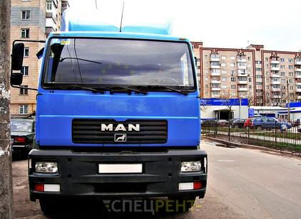 Аренда и услуги спецтехники — MAN 10 т
