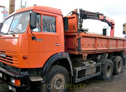 Аренда и услуги спецтехники — КАМАЗ 53215