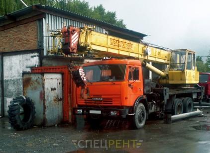 Аренда и услуги спецтехники — КАМАЗ 53215 Ивановец