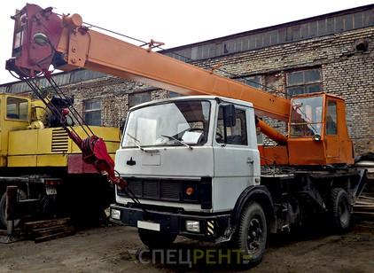 Аренда и услуги спецтехники — МАЗ КС-3577