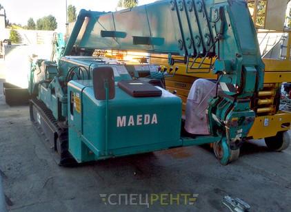 Аренда и услуги спецтехники — MAEDA MC405