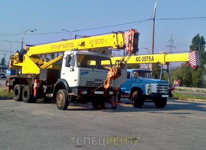 Аренда и услуги спецтехники — КАМАЗ КС-55712-1