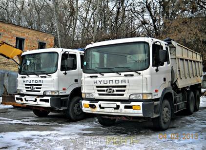 Аренда и услуги спецтехники — HYUNDAI HD270