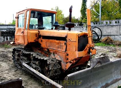 Аренда и услуги спецтехники — Уборка снега ДТ-75