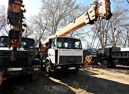 Аренда и услуги спецтехники — МАЗ КС-3579 Машека