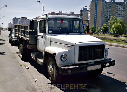 Аренда и услуги спецтехники — ГАЗ 53