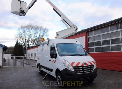 Аренда и услуги спецтехники — Renault Master