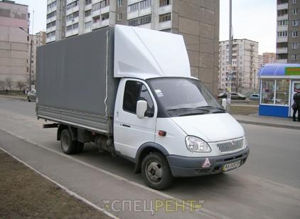 Аренда и услуги спецтехники — Газель тент 4 метра