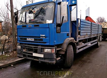 Аренда и услуги спецтехники — IVECO Cargo 180E24