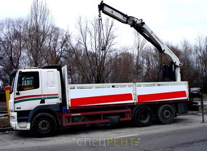 Аренда и услуги спецтехники — DAF CF 380