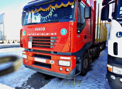Аренда и услуги спецтехники — IVECO