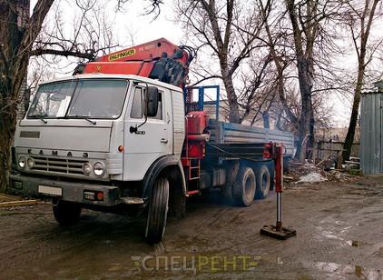 Аренда и услуги спецтехники — КАМАЗ 53212