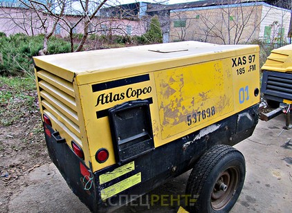 Аренда и услуги спецтехники — ATLAS COPCO XAS97