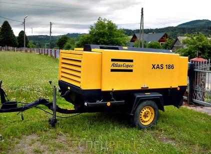 Аренда и услуги спецтехники — ATLAS COPCO XAS186