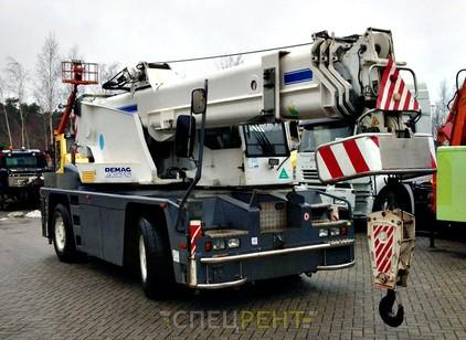 Аренда и услуги спецтехники — DEMAG AC75