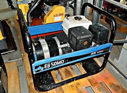 Аренда и услуги спецтехники — SDMO HX6000S