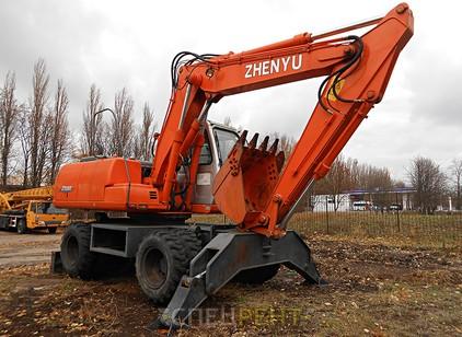 Аренда и услуги спецтехники — ZHENYU ZYL 160
