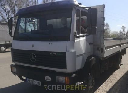 Аренда и услуги спецтехники — Mercedes борт 6 м