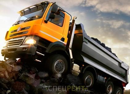Аренда и услуги спецтехники — Вывоз строительного мусора