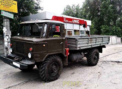 Аренда и услуги спецтехники — ГАЗ-66